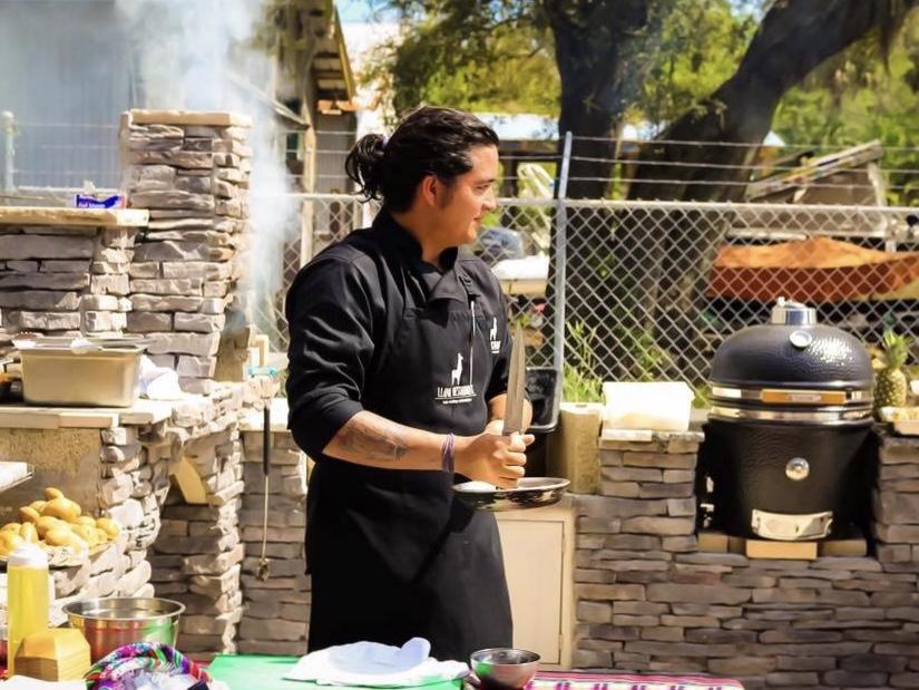 Chef Marcel Vizcarra