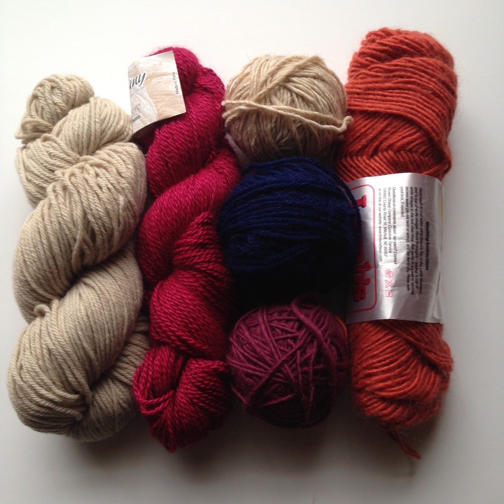 Some of the yarn I rediscovered <3