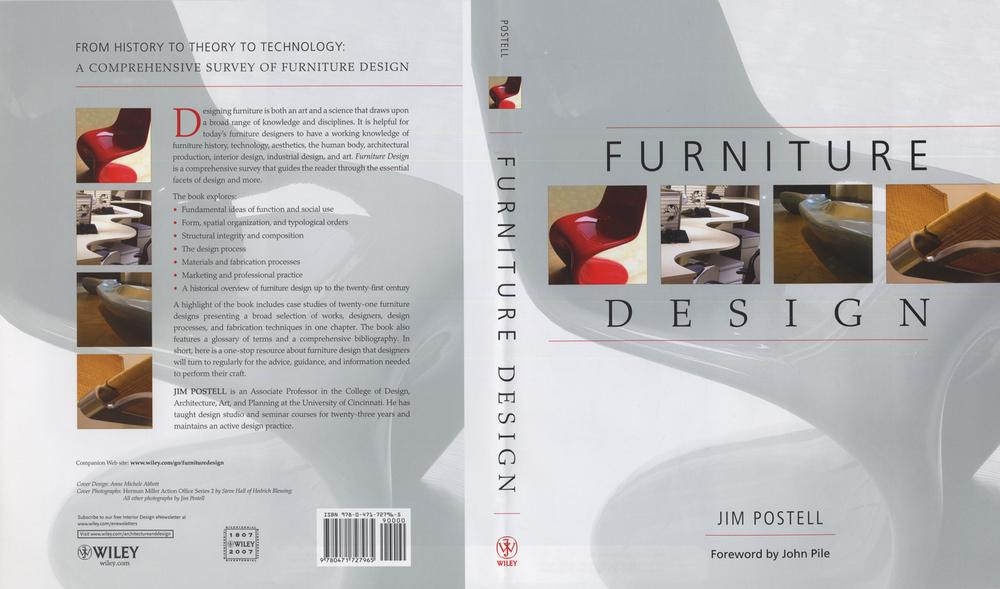 Furniture Design Jim Postell writing — design studio 161