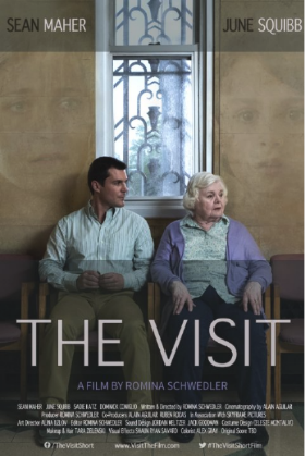 """The Visit"" - (dir.) Romina Schwegler, starring Sean Maher & Nancy Ellen Shore. Sound Design & Audio Post-Production by Jack Goodman. (Drama, Short)"