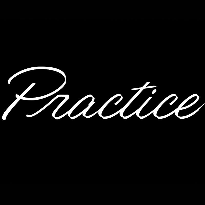 Practice Hand Lettering