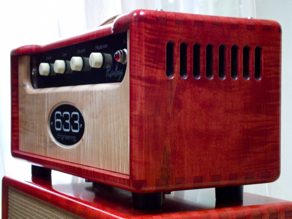 633 Engineering Ruby bespoke UK hand made guitar amplifier