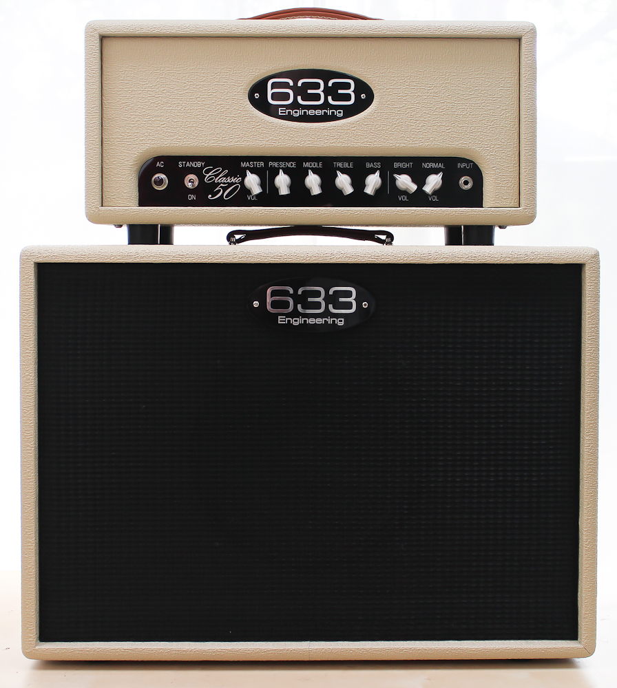633 Engineering Classic 50   bespoke UK hand made guitar amplifier