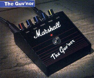 The original Marshall Guvnor with built in FX loop