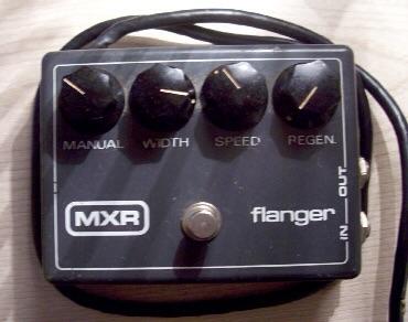 Original mains powered MXR finger