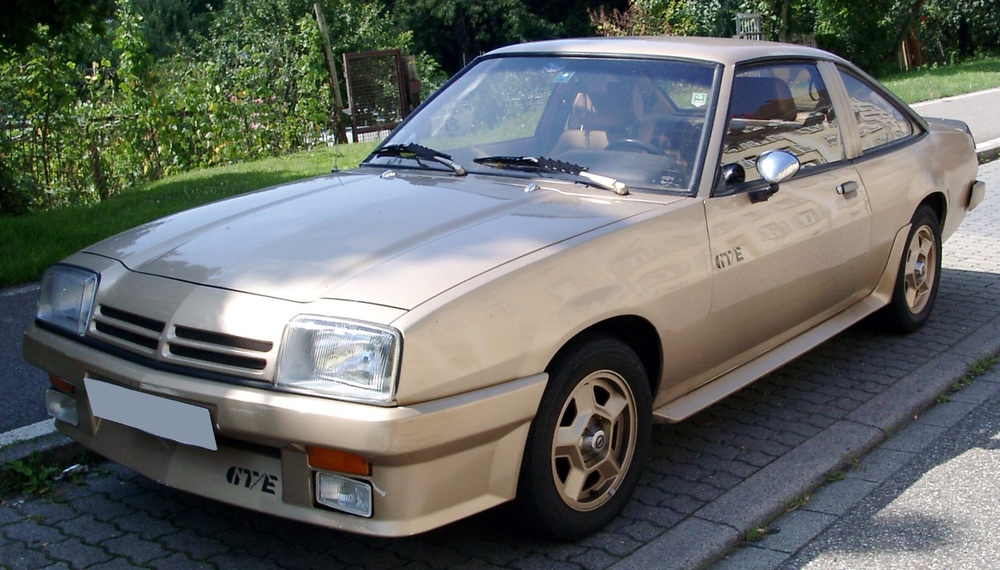 One of my favourite cars - a 1983 Opel Manta GTE. Mine had Starsky and Hitch style go-faster stripes and could hold two 4x12 cabs in the back. Rock and roll!