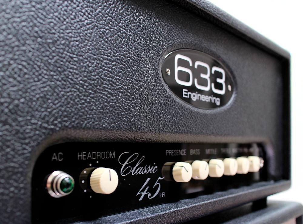 633 Engineering Classic 45 bespoke UK handmade guitar amplifier