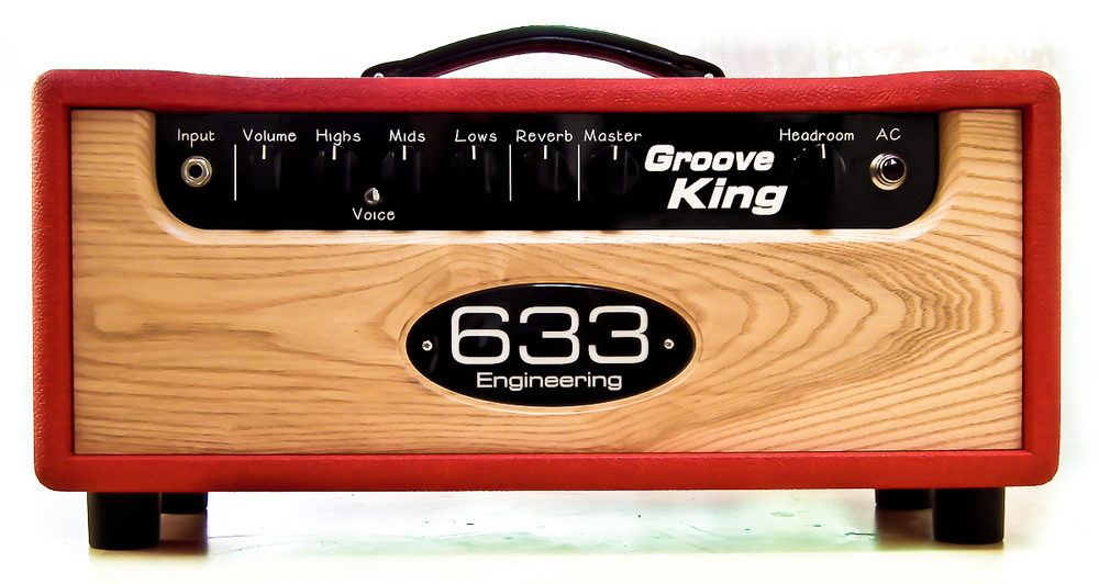 633 Engineering Groove King bespoke UK hand made guitar amplifier