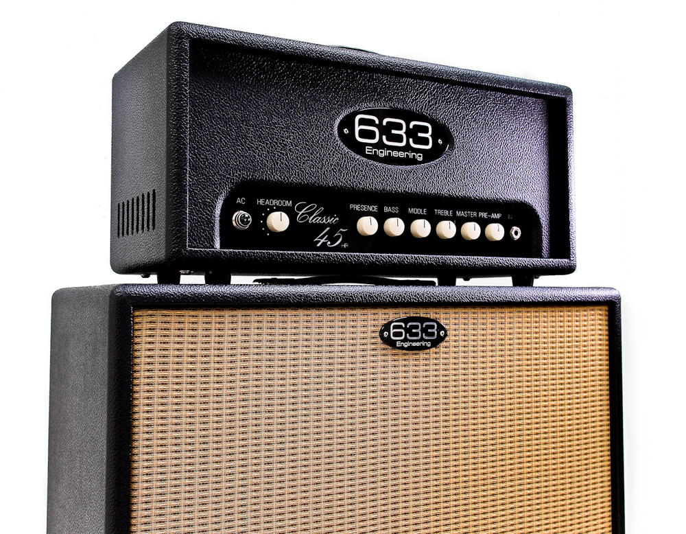Classic 45 on a 2x12 open backed cabinet