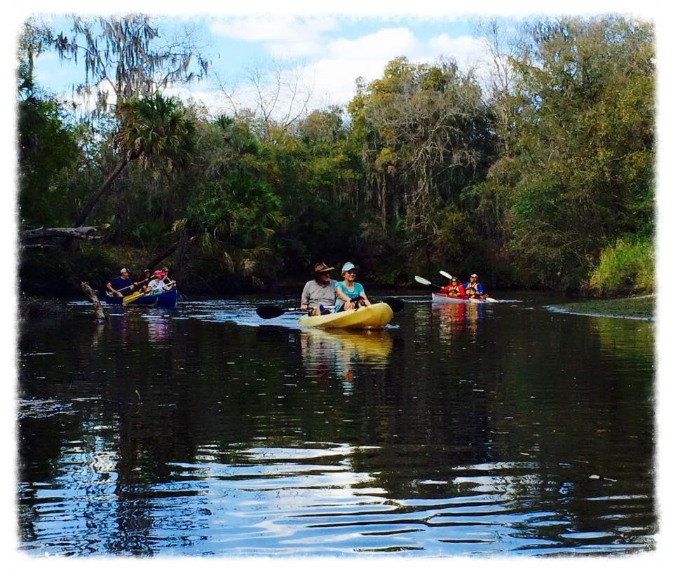Peaceful Kayakers (Winter 2015)