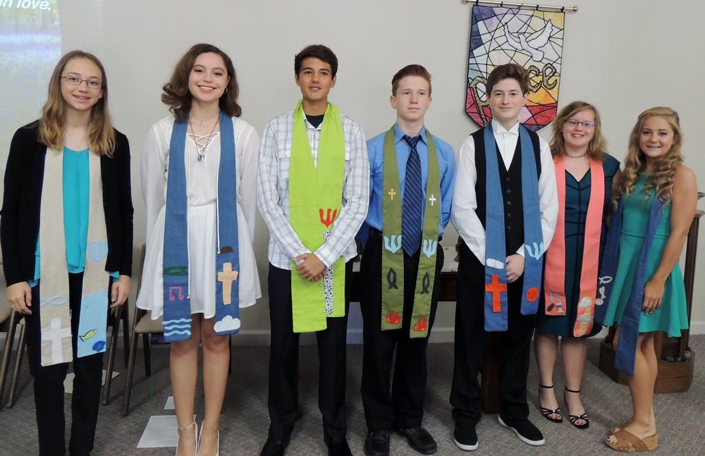 Confirmation class of 2017