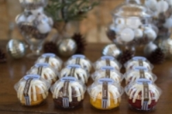 Single servings of freshly baked mini Bundt Cakes are sure to temp Festival goers.
