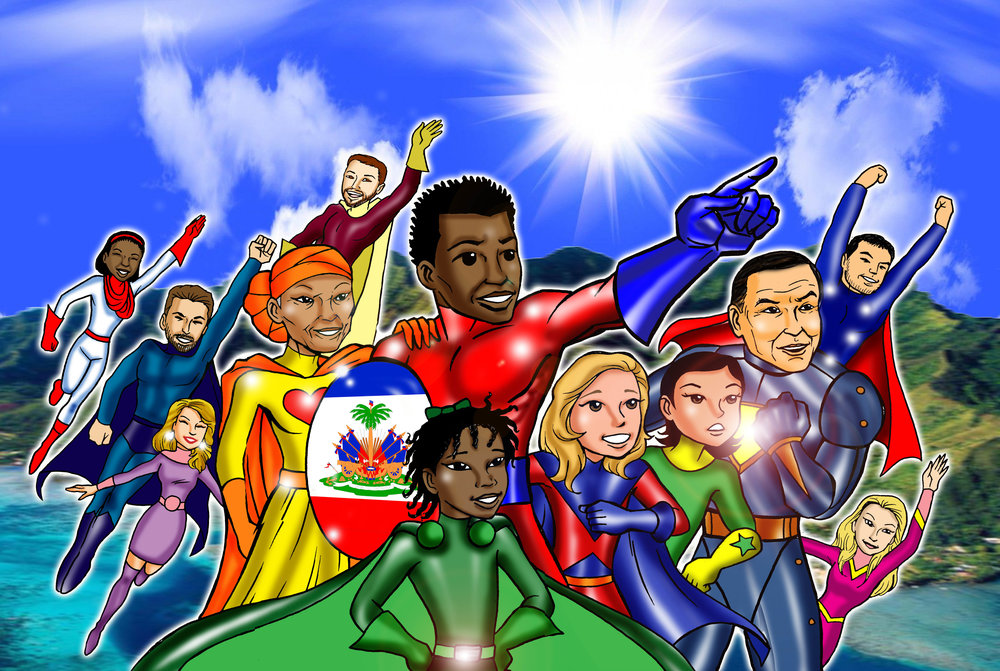 Super Heroes Of Service an Immigrant Story's Cover