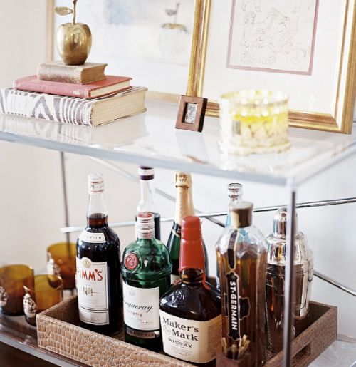 Interior Bring Your Home Cohesive And Sophisticated Look: The Beauty Of The Bar Cart