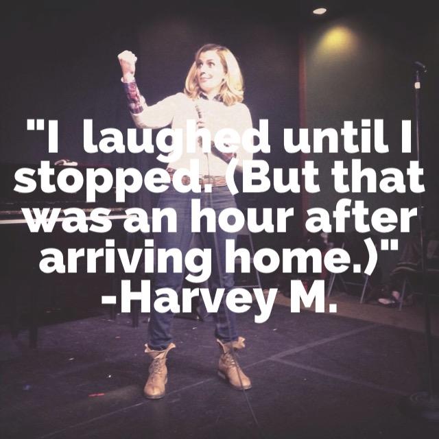 hashtag comedy testimonial