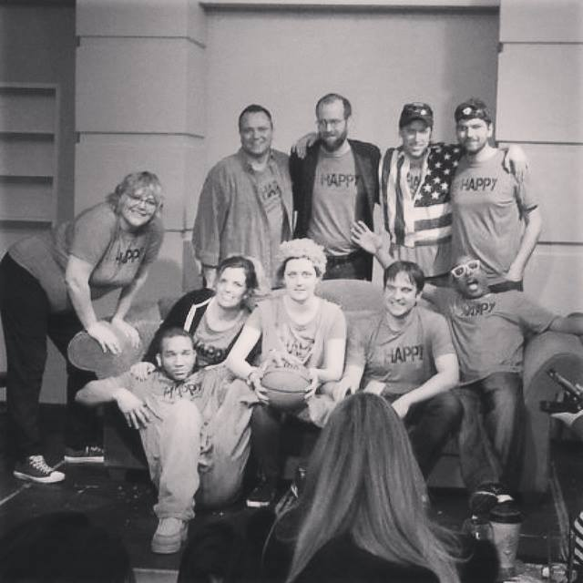 Top row (left to right): Darla Munroe, Paul Stelzer, Greg Payne, John Russell, Kenny Greer. Seated: Joseph Moorer, Sarah Storer, Sara Bucher, Matt White, Jermaine Jackson.