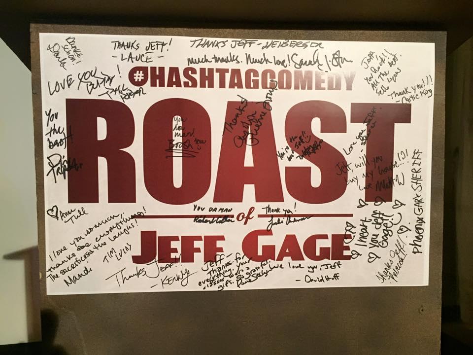 hashtag comedy roast of jeff gage