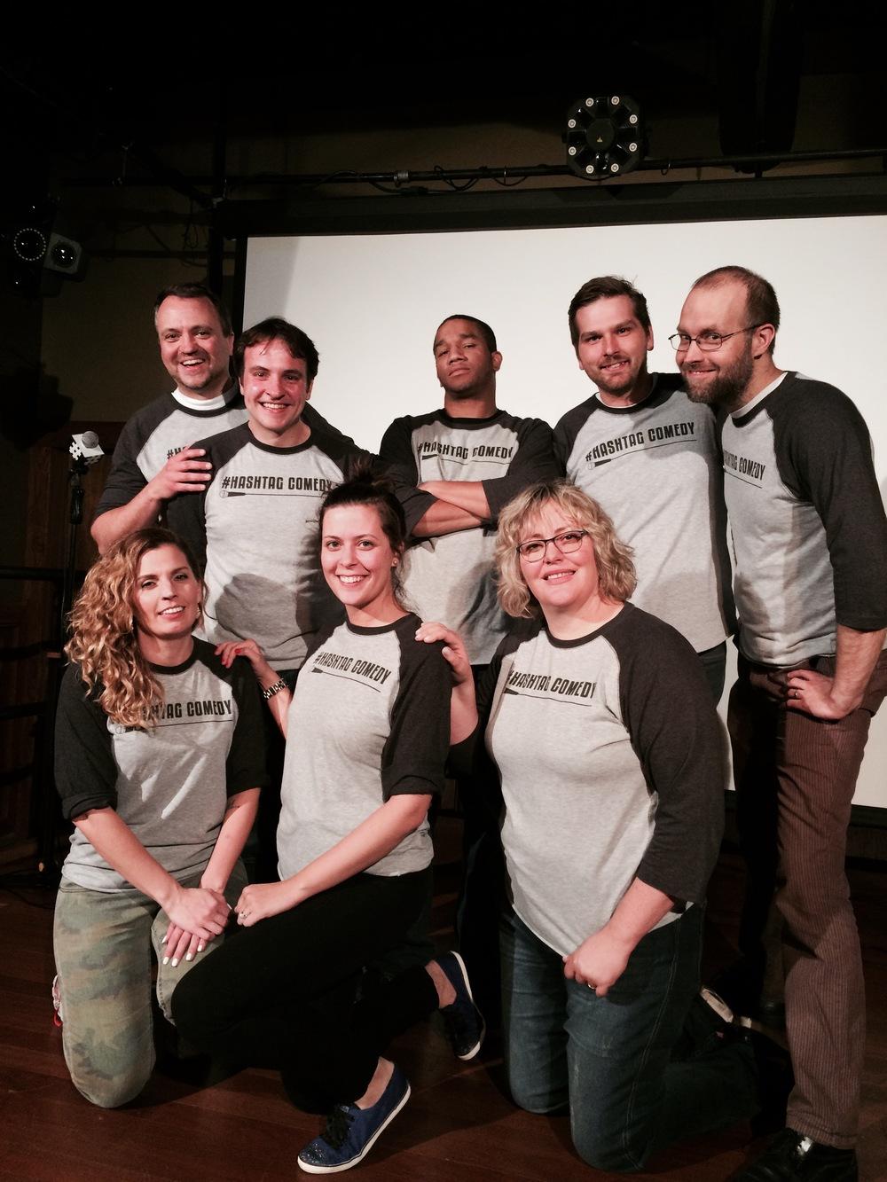 hashtag comedy improv comedy show
