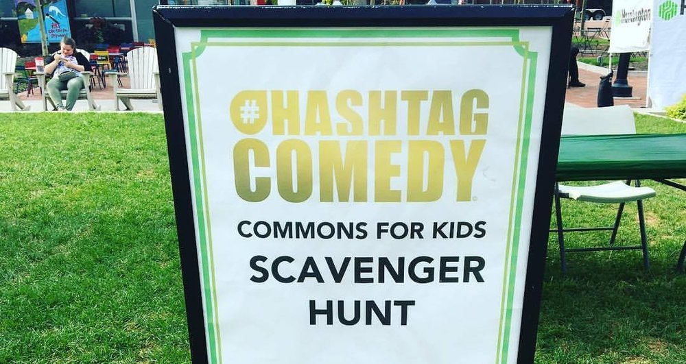 Improv Scavenger Hunt for Columbus Commons