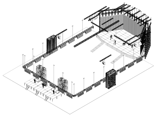 Technical drawing by Blue House Design