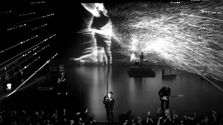 "Still image from ""Invisible"" music video"
