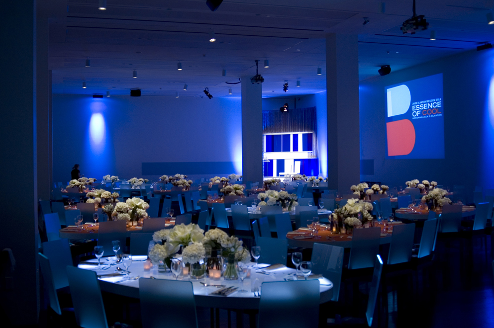 Production support for Blanton Museum of Art Gala
