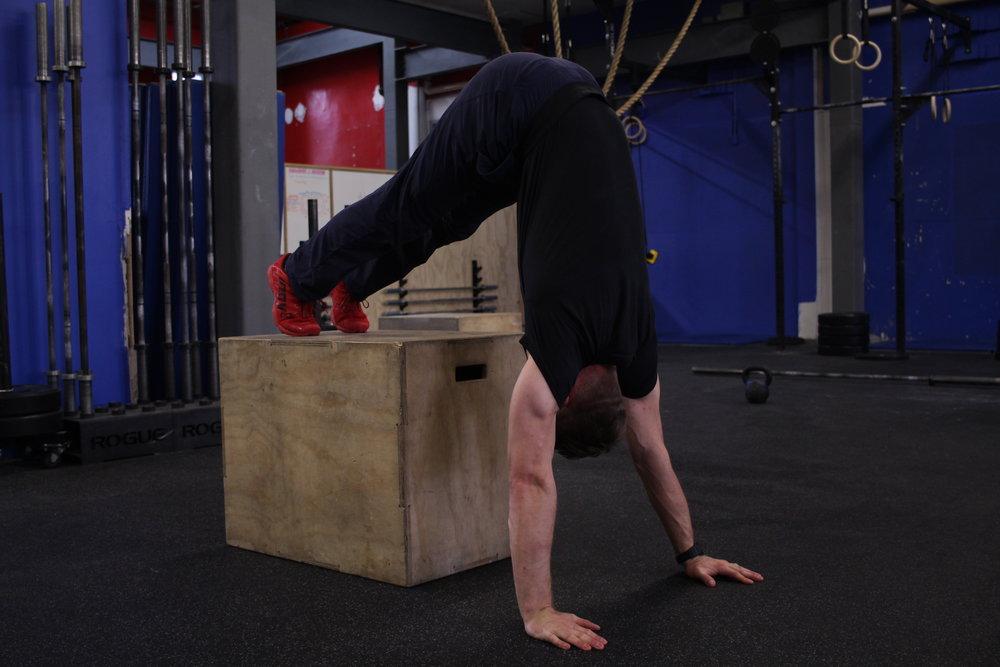 Box Handstand