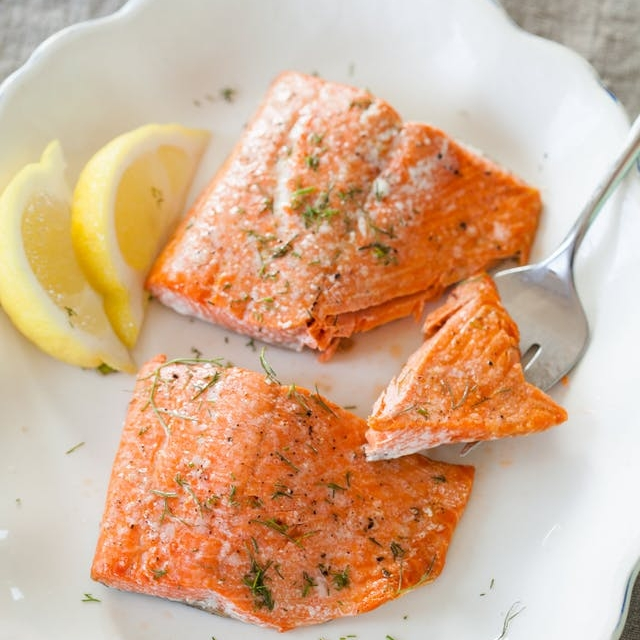 Quick & Easy Baked Salmon