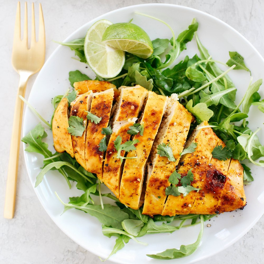 Turmeric Ginger Grilled Chicken