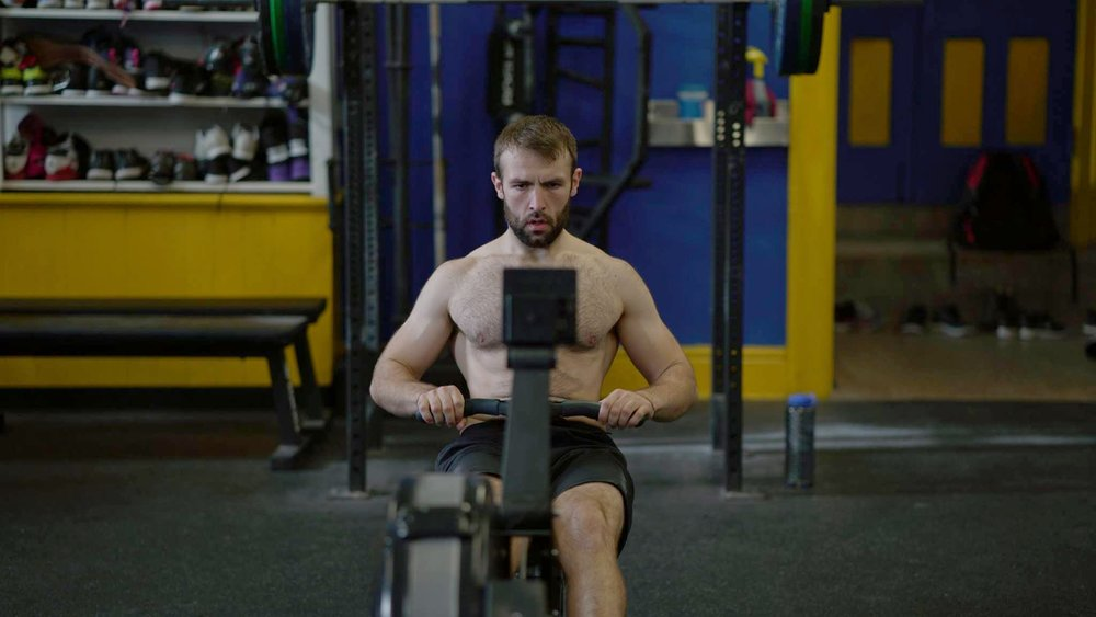 Metabolic conditioning movements such as running, rowing, and skipping.