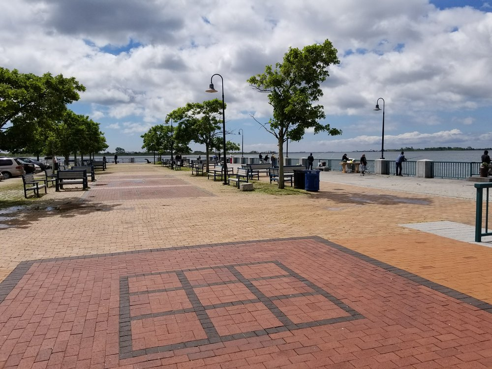 35 new trees at Canarsie Pier - Dead trees were removed, stumps cleared and new, native trees were planted in the fall of 2017.