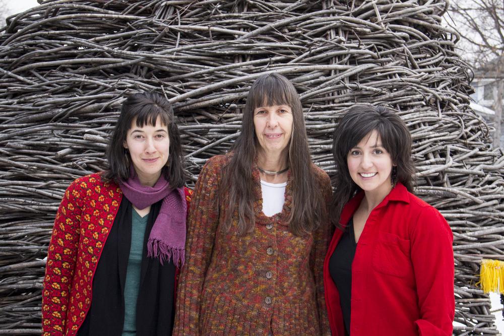 Ecological Gardens' LandscapeDesigners LauraFreund, Paula Westmoreland andLindsay Rebhan