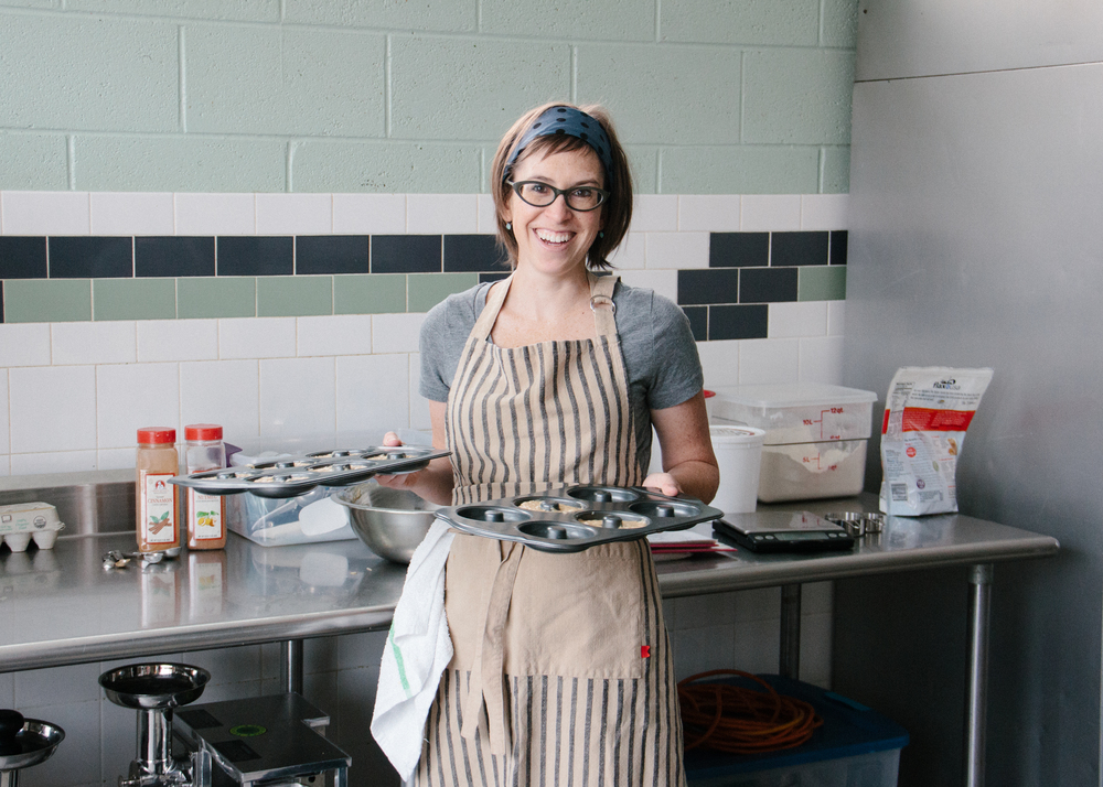 M olly Miller, owner and full-time baker of Sift Gluten Free Bakery.