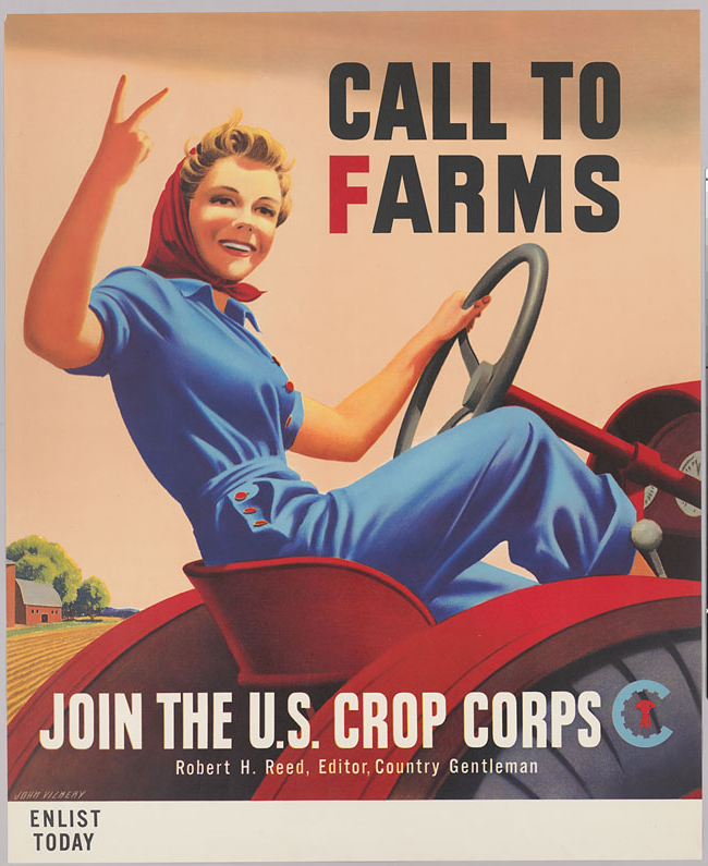 """Call to Farms"", U.S. Crop Corps"