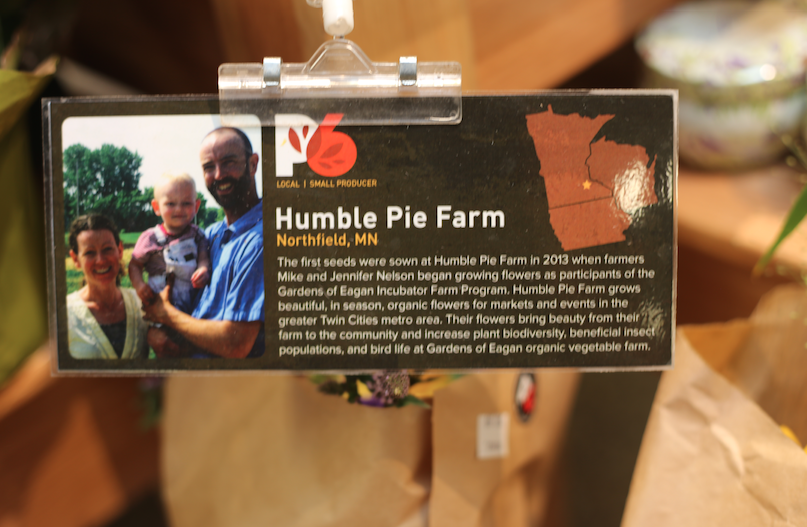 One of our favorite flower farmers,  Humble Pie Farm  is P6 approved!
