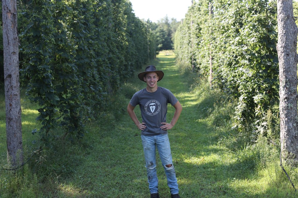 Eric Sannerud CEO and Farmer of Mighty Axe.