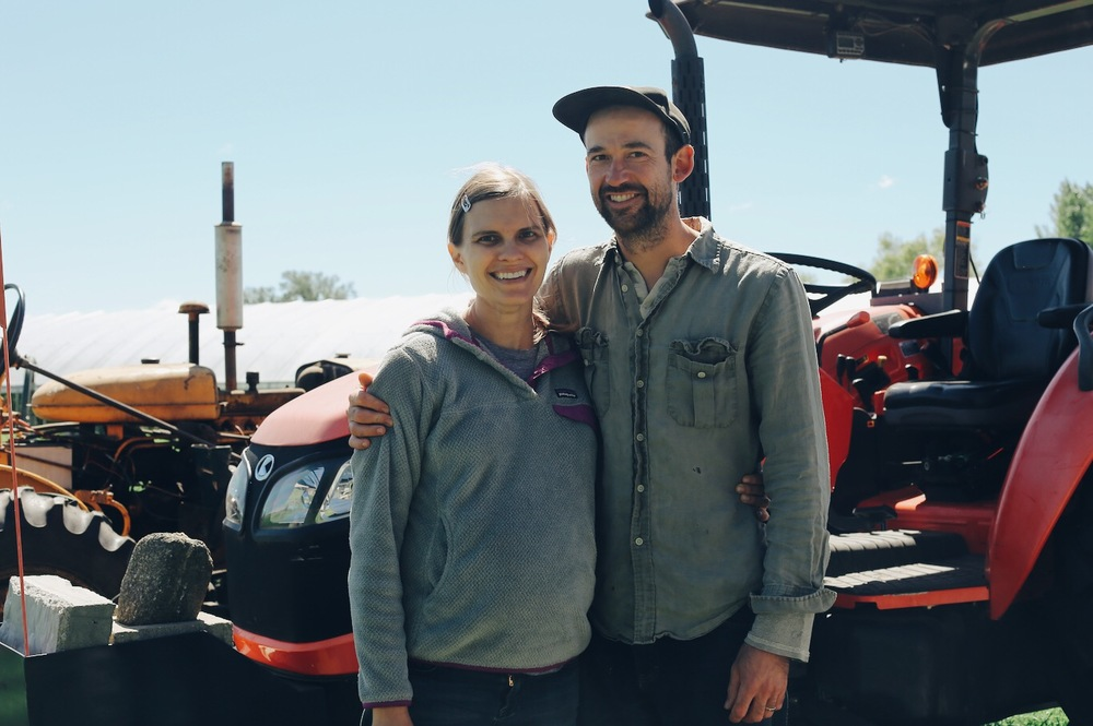 Owners and operators Laura Frerichs and Adam Cullip.