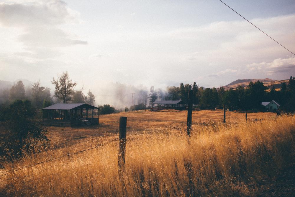 Fire struck