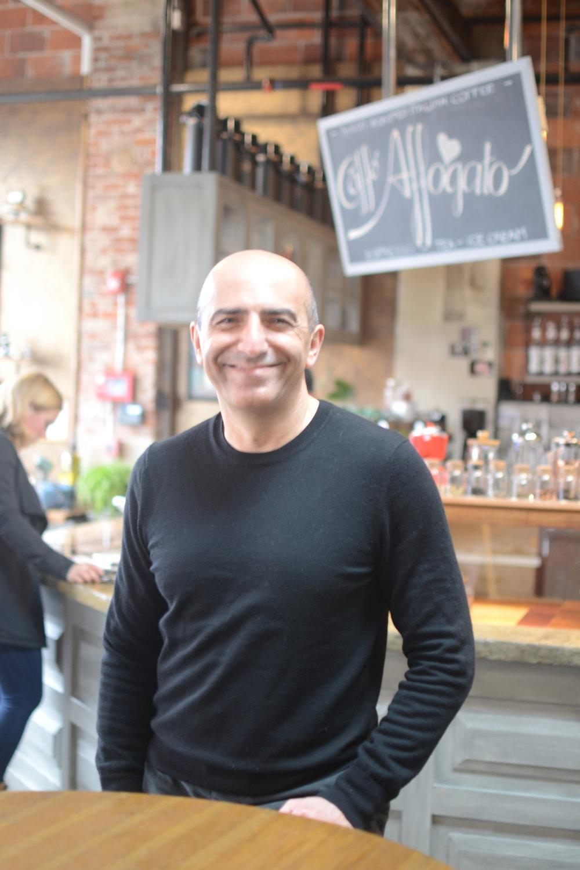 Shahrokh Nikfar of Caffé Affogato