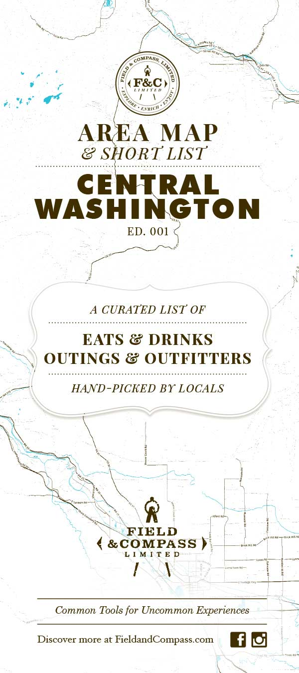 Ellensburg, Cle Elum Map and Short List