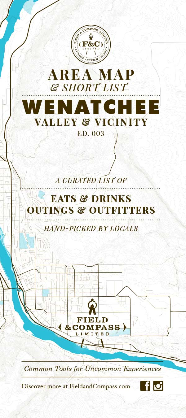 Wenatchee Short List Area Map