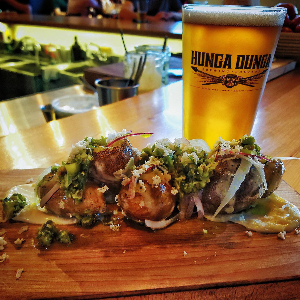 Hunga Dunga Brewing Company - Life Changing Brews | Bites They're pioneers in exceptional beer, contributing excellence to the Northwest microbrew scene. Stop in for a pint and enjoy their fresh, farm-driven menu.333 N Jackson, hungadungabrewing.com, (208) 596-4855