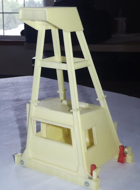 Scale Model of a Crane