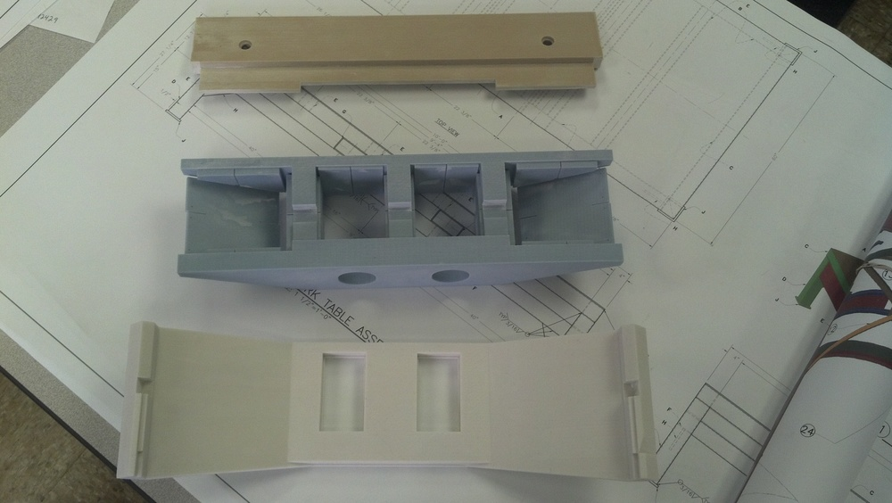 Scale Model of Bridge Parts