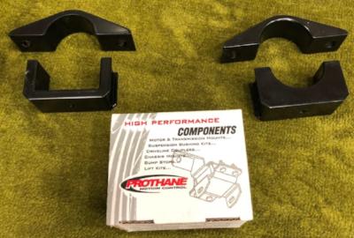 Manual steering kit pictured, power steering kit varies slightly