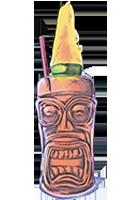 CALYPSO'S CURSE  1888 rum, cruzan 151 rum, velvet falernom, lemon juice, lime juice, pomegranate juice, passion fruit, bitters $13.