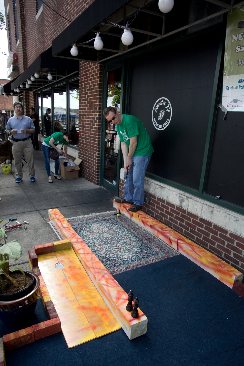 Delaware Jaycees Pub Putt in Newark, Delaware on September 20, 2014