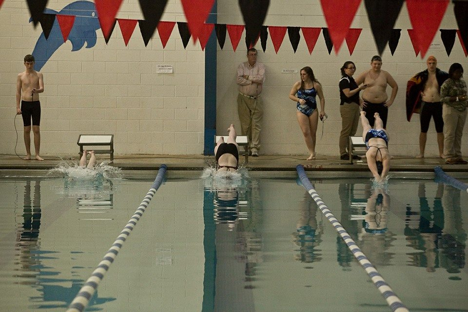 Swim meet between Caravel Academy and Middletown at the boys and girls club... (8/365)