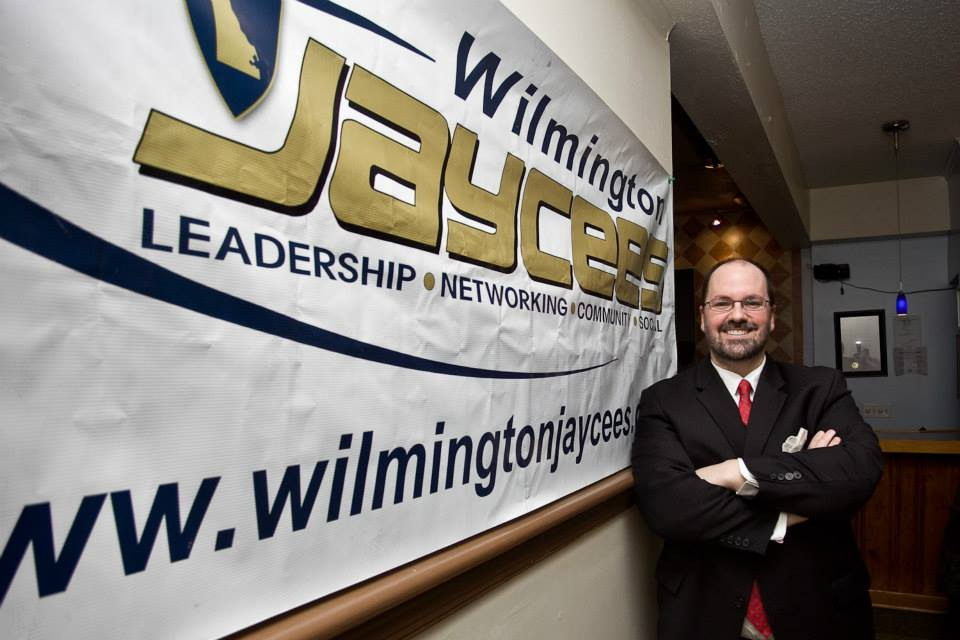 Duncan C T Holyoke The new president of the Wilmington Jaycees... (17/365)