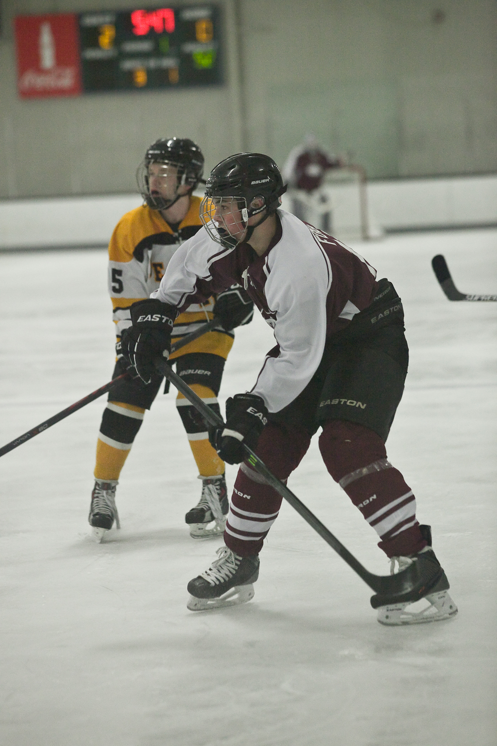 High School Hockey in Newark, Delaware on January 30, 2015
